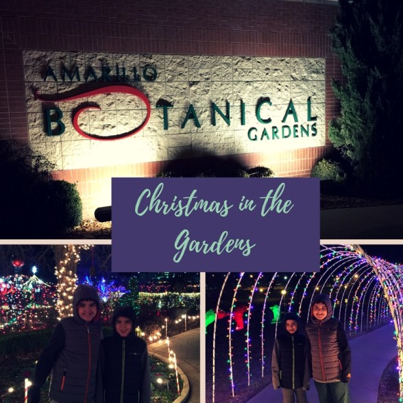 Christmas in the Gardens at the Amarillo Botanical Gardens