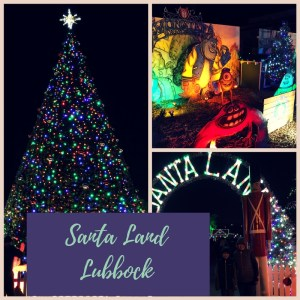 Santa Land in Lubbock, Texas