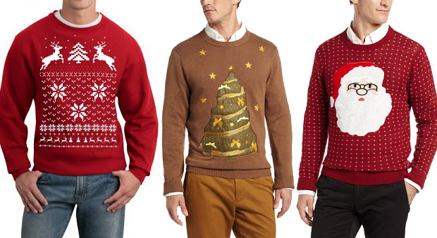 Christmas Sweaters Guys
