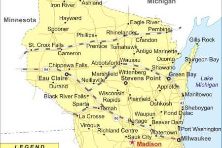 usa map wisconsin state » Another Maps [Get Maps on HD] | Full HD ...