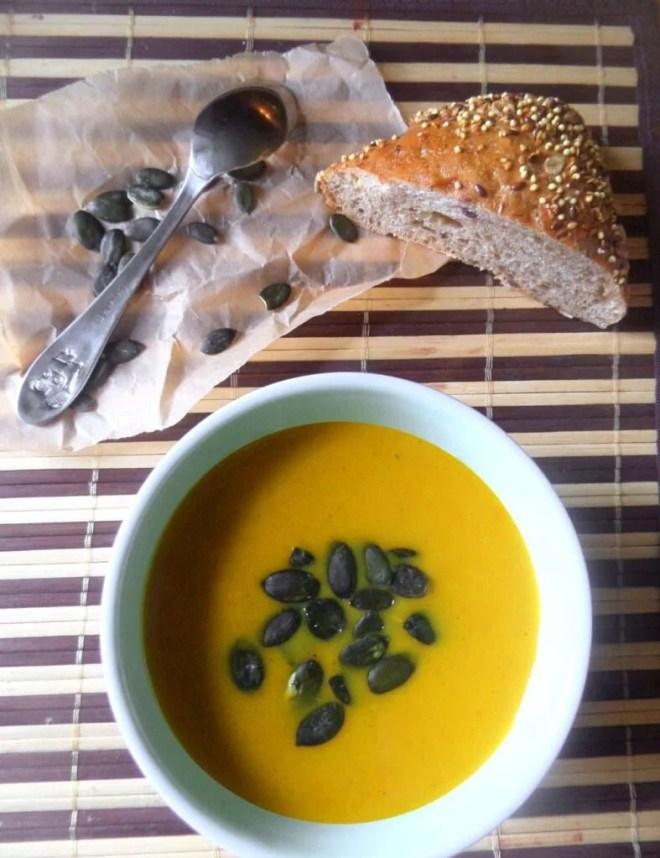pumpkinsoup 787x1024 Pumpkin Ginger Soup