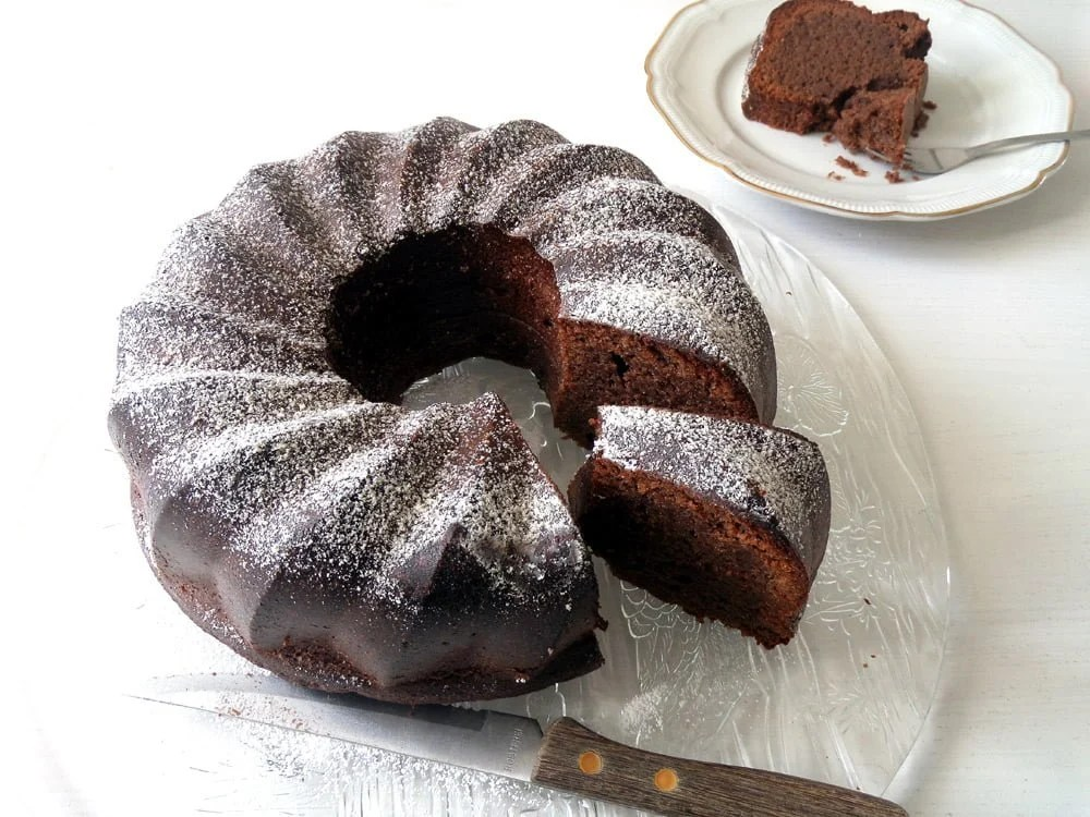 No Flour Chocolate Cake2 Moist Flourless Chocolate Cake with Almonds