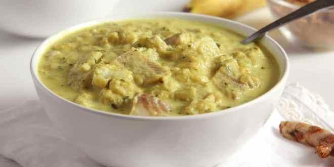 Rhubarb Fish Curry
