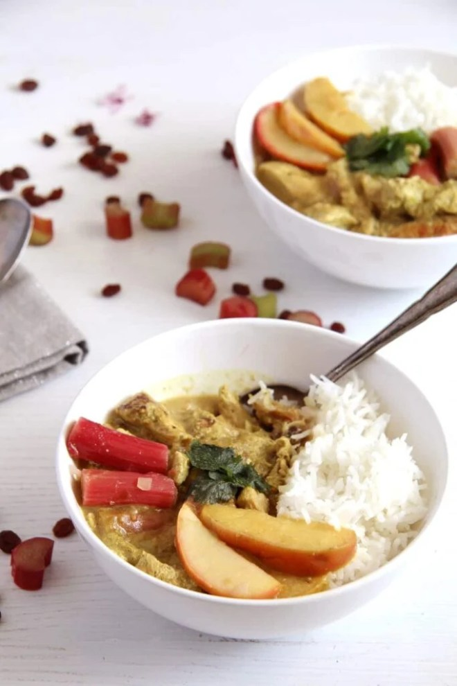 rhubarb chicken apple 683x1024 Rhubarb Chicken Curry