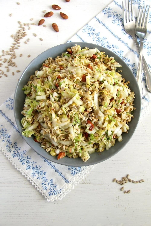 ramen noodle Ramen Napa Cabbage Salad
