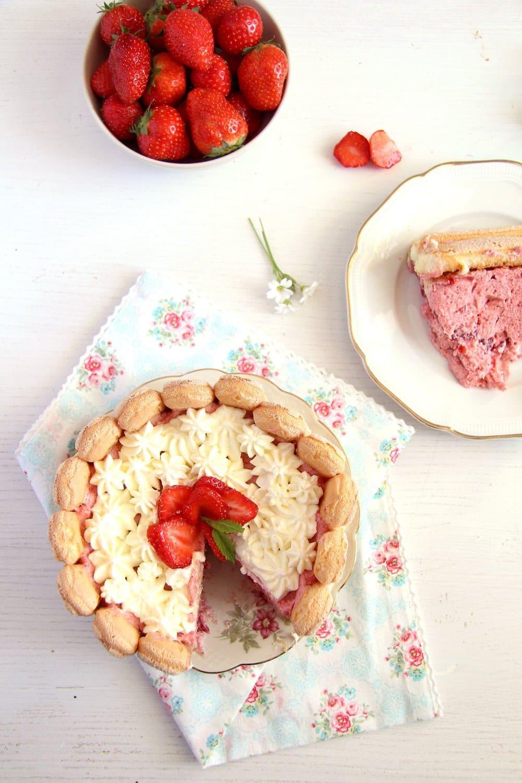 strawberry cake charlotte Strawberry Charlotte