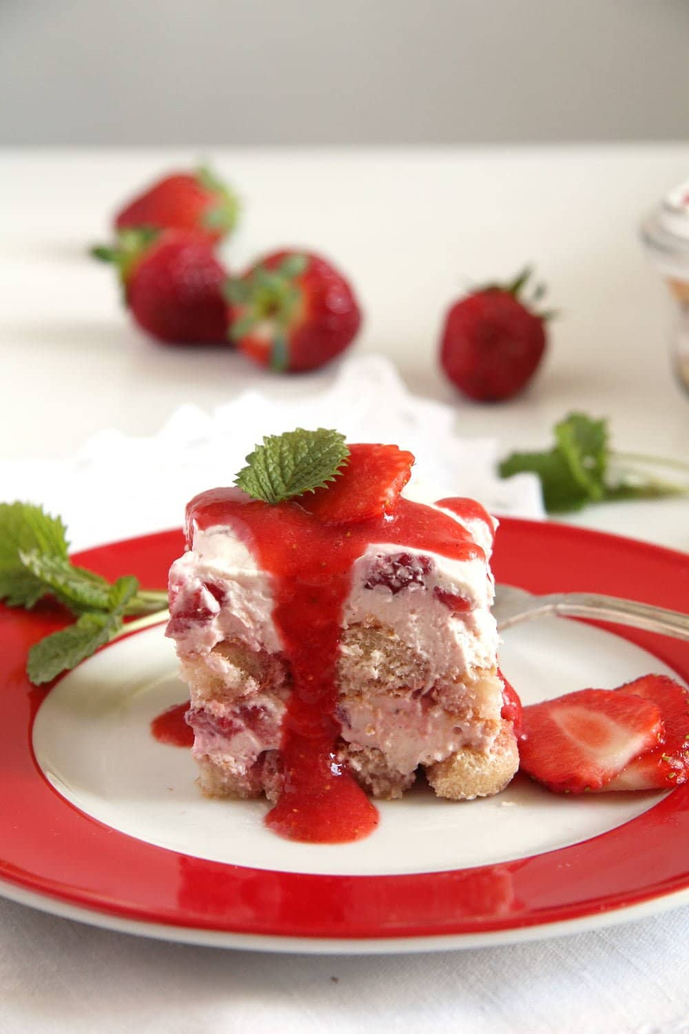 strawberry tiramisu mascarp Strawberry Tiramisu