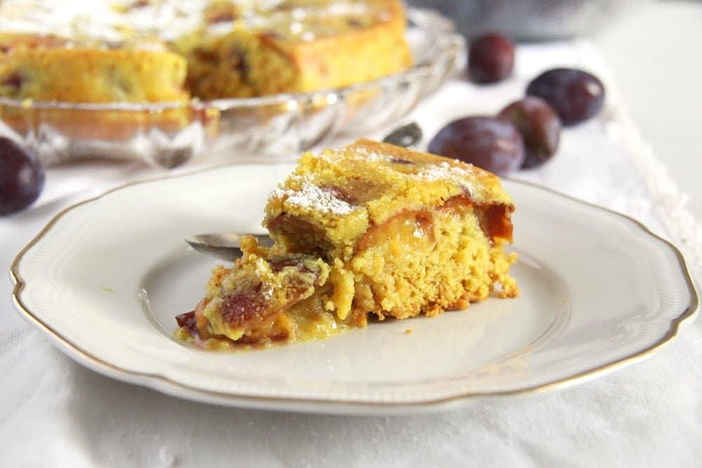 turmeric cake plum sweet Turmeric Plum Cake