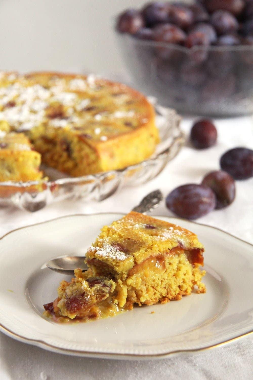turmeric cake spices Turmeric Plum Cake
