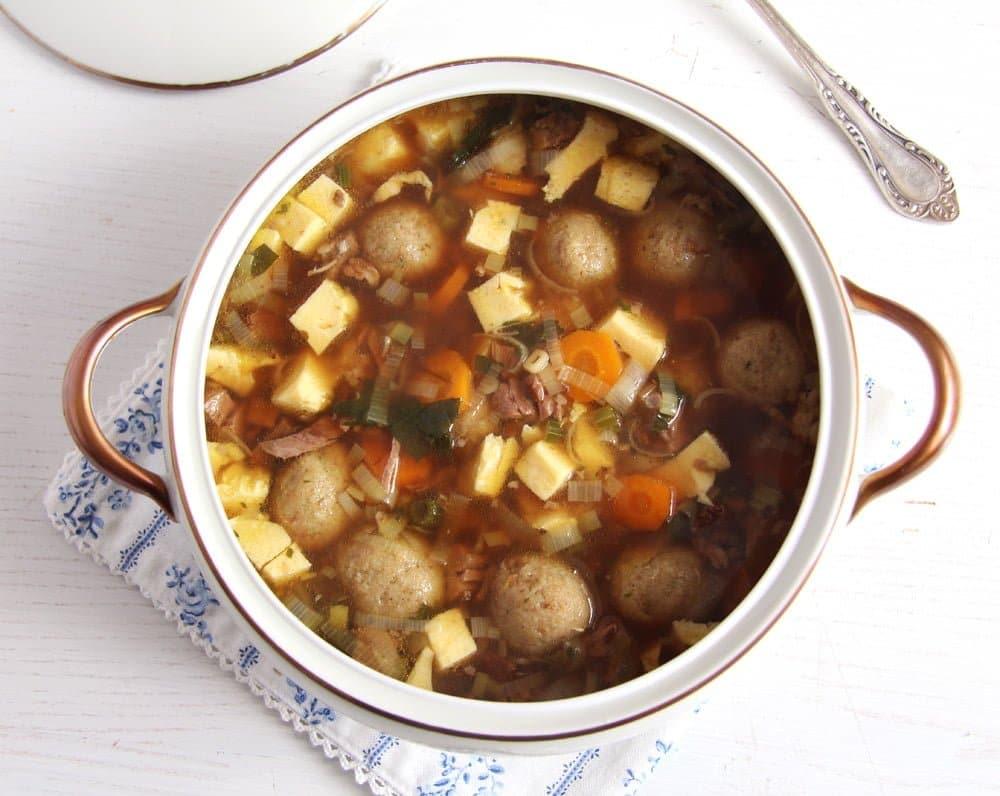 beef soup broth German Beef Soup