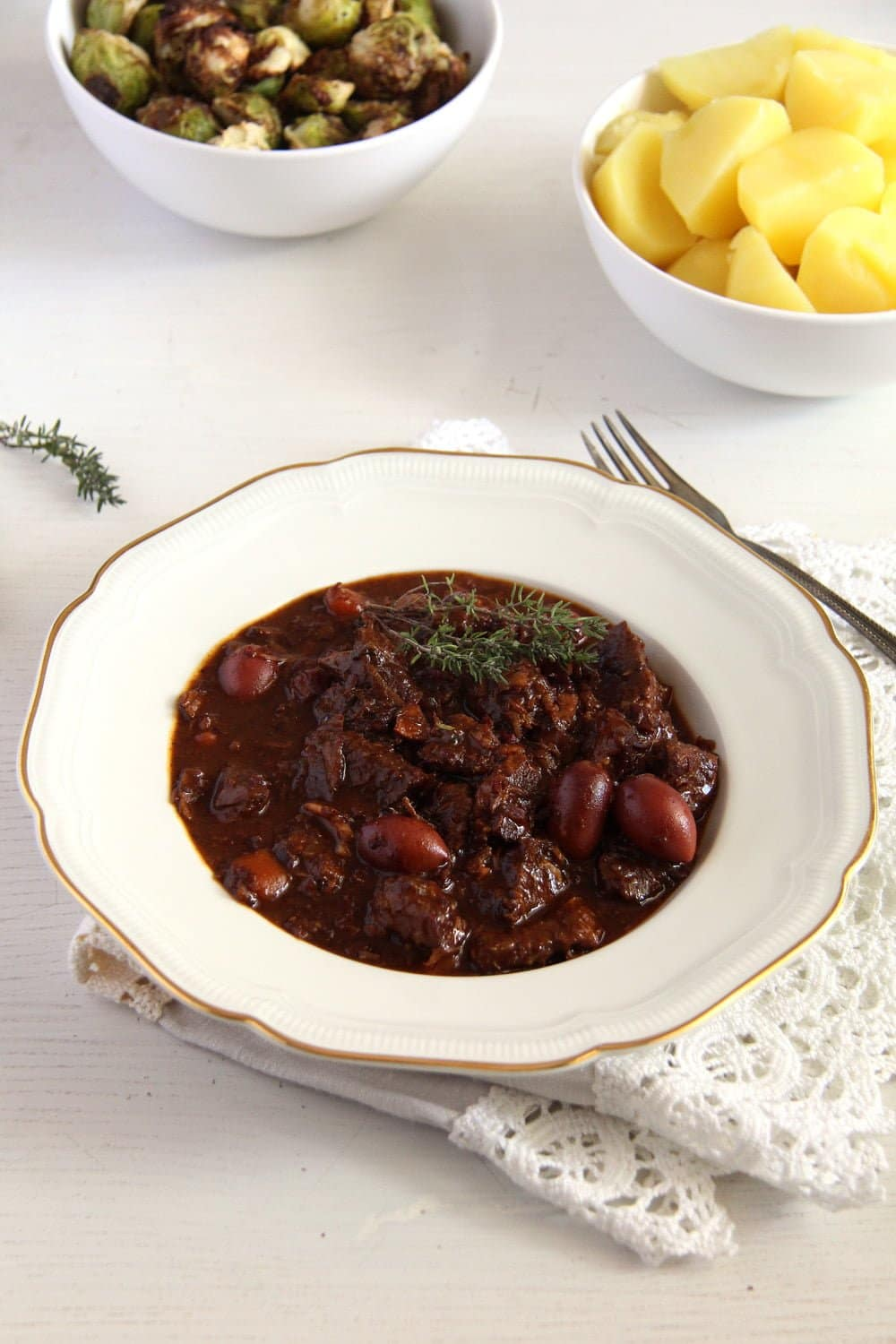 french stew French Beef Stew with Olives