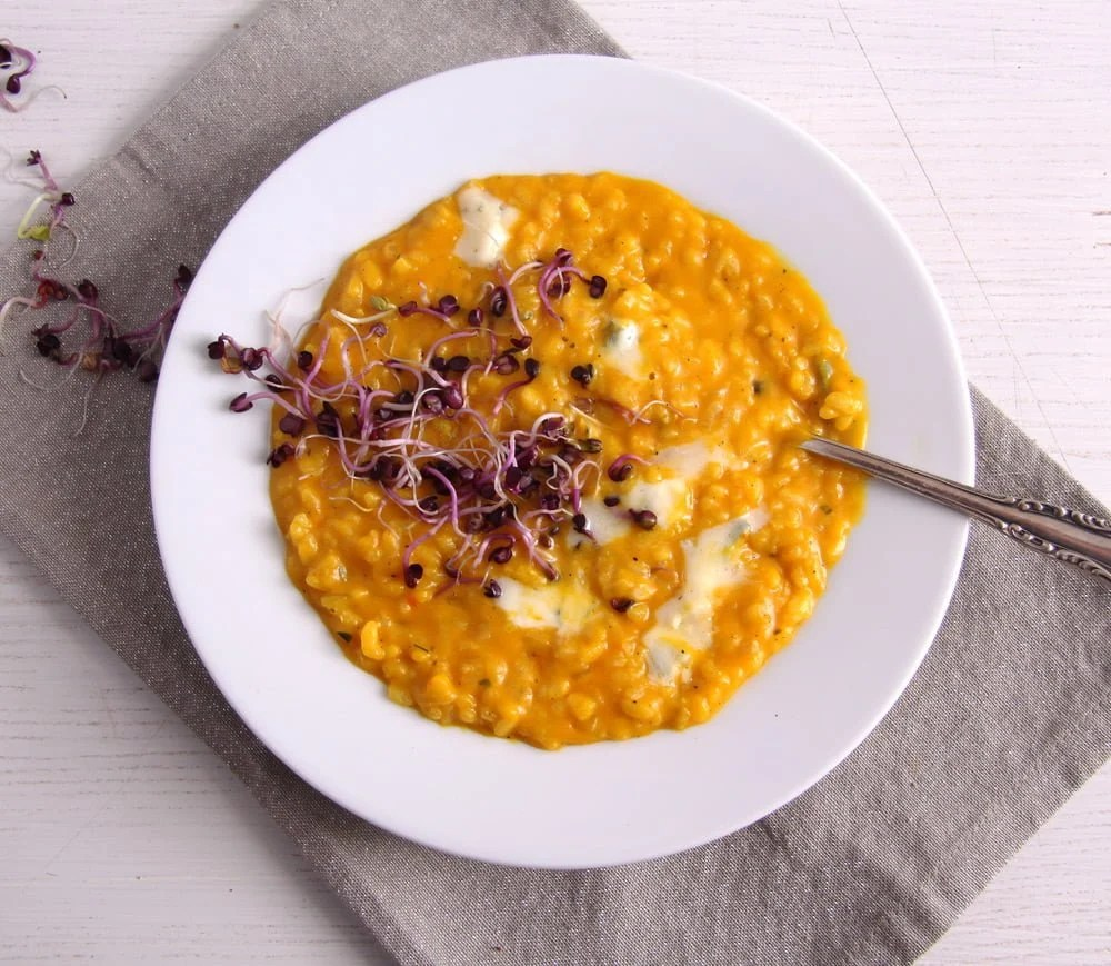 pumpkin risotto cheese How to Cook Basic Polenta – Mamaliga