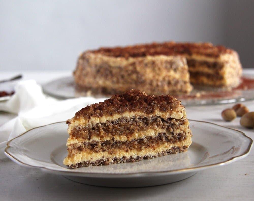 egyptian cake Egyptian Hazelnut Cake