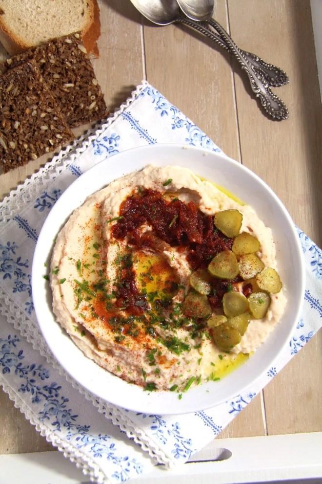 Romanian White Bean Dip – Fasole batuta