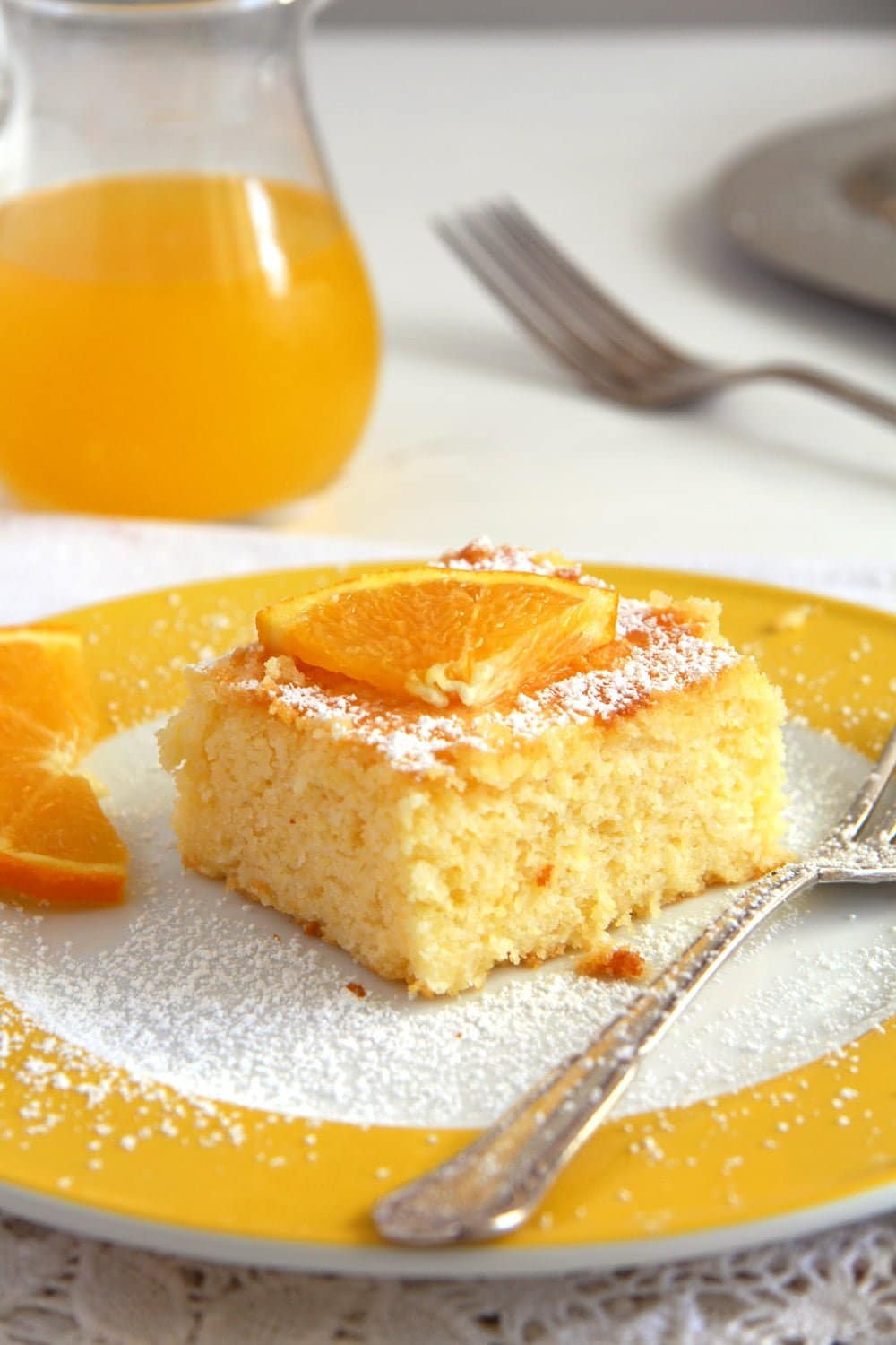 polenta cake orange syrup Polenta Orange Cake – Malai dulce