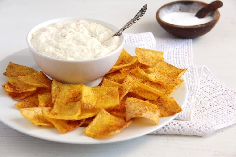 polenta chips crunchy Polenta Chips