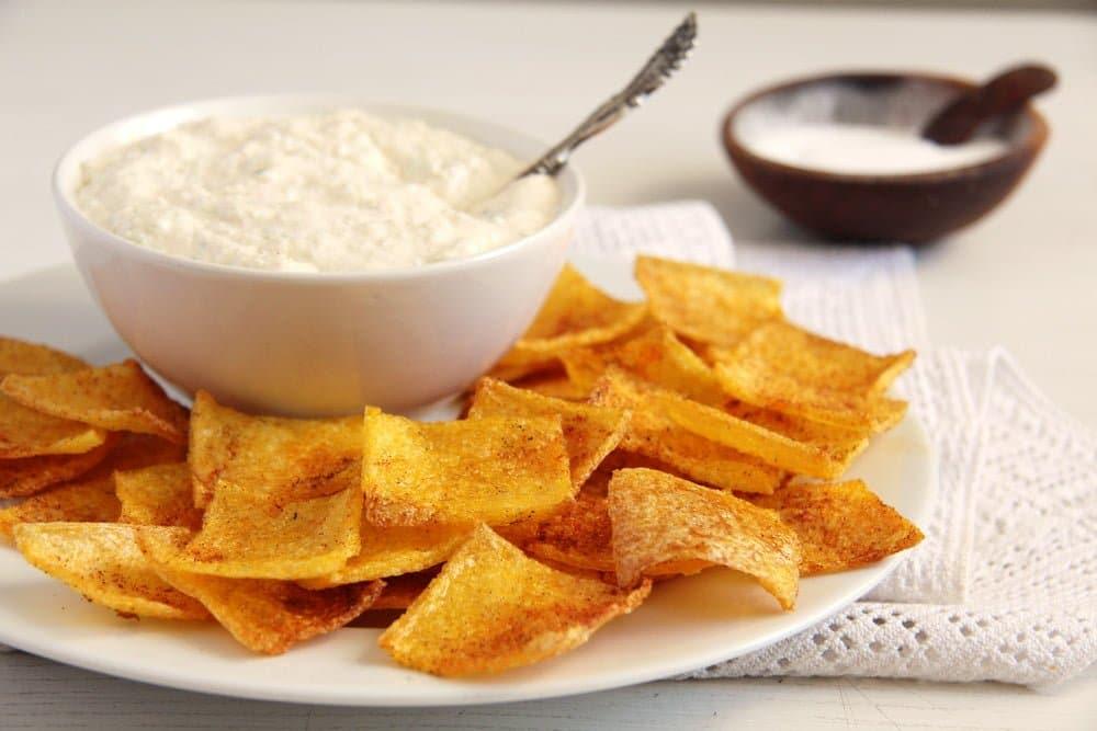 polenta chips romanian Polenta Chips