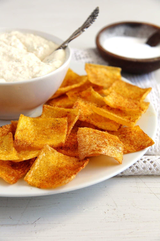 polenta chips Polenta Chips