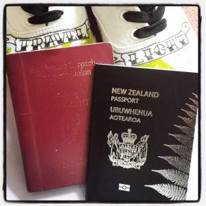 I think it's safe to say that I clearly use my Irish passport more than my NZ one. I need a passport cover.