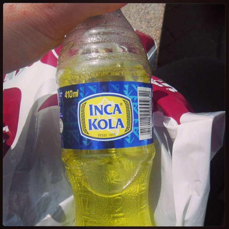 Insanely addictive and sweet liquid which actually outsells Coke in Peru. There are not many drinks that can say that.