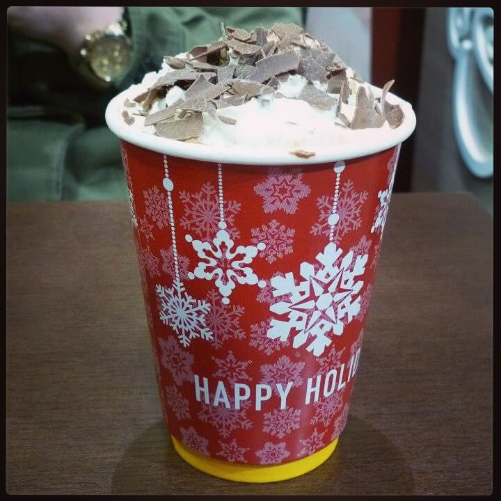 Insomnia Hot chocolate is the best I have ever had. They use liquid melted Lily O'Briens chocolate. It is soooo sweet and creamy. Perfect Winter drink. I HAVE to have one every time I go back to Dublin.
