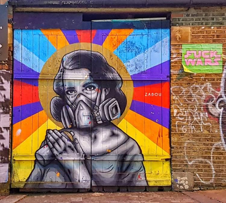 brick lane street art london where is tara povey top irish travel blogger
