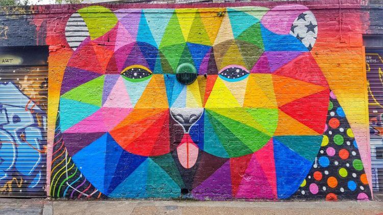 brick lane street art london things to do in London where is tara povey top irish travel blogger