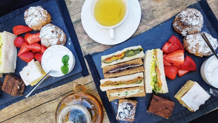 la suite west vegan afternoon tea london