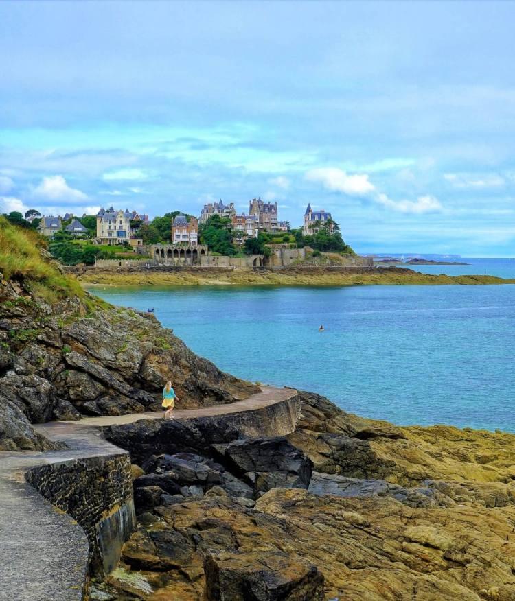 Saint Malo France Saint Malo to Dinard Brittany