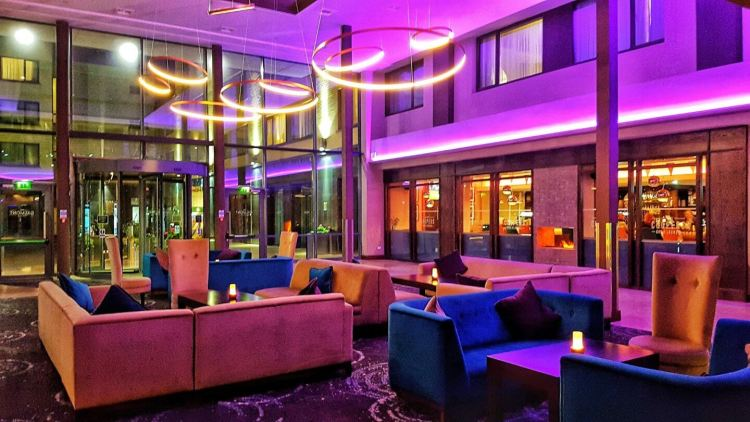 The galmont hotel and spa galway lobby