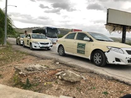 Crossing the border from Jordan to Israel