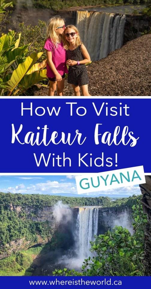 Kaiteur Falls Pinterest kids