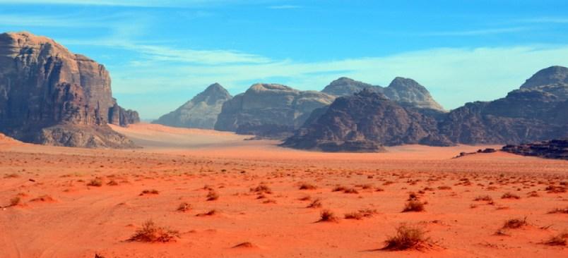نتيجة بحث الصور عن wadi rum landscape