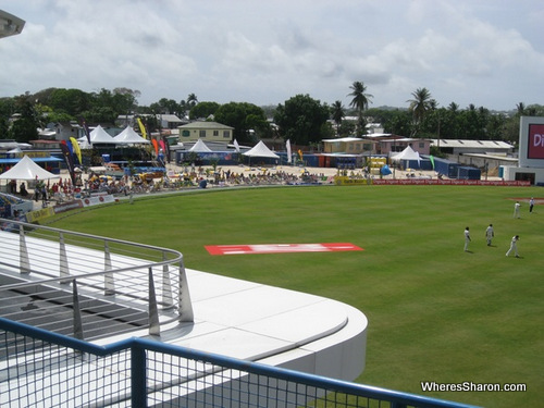 party stand at barbados cricket