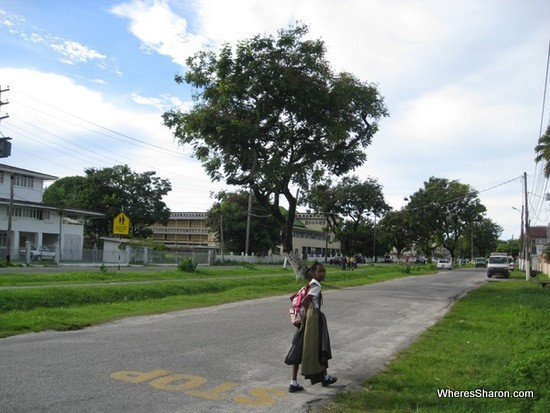 Exploring the streets of Georgetown guyana