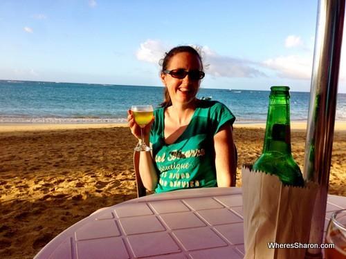Beer on the beach - good stuff