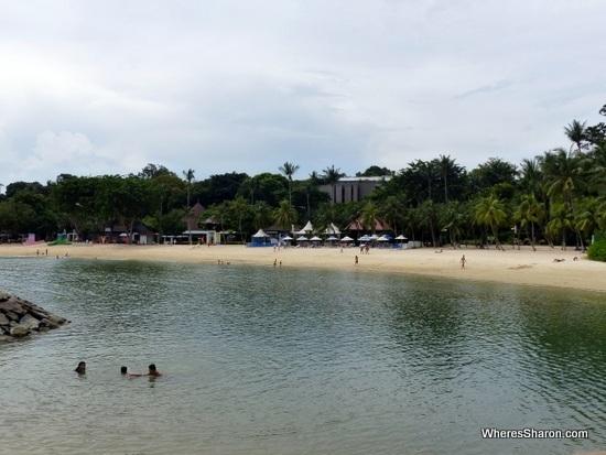 Palawan Beach thing to do in sentosa