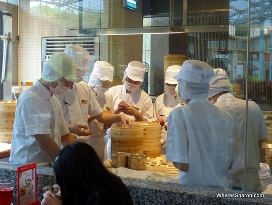 din tai fung dumpling masters
