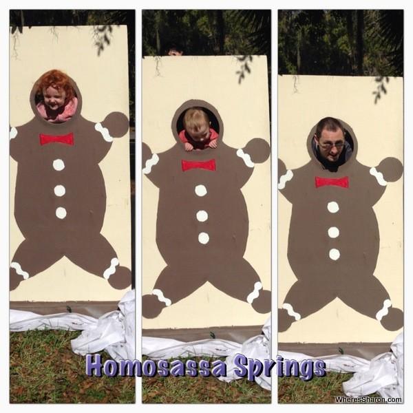 silly photos at Homosassa Springs