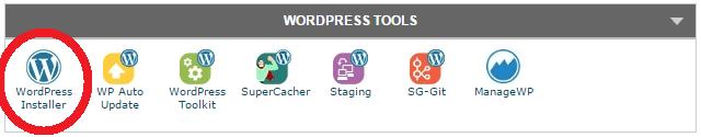 cPanel WordPress Tools