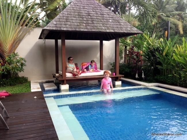 pool at ubub family house