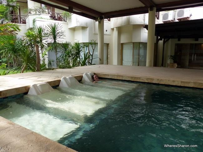 Thalasso Spa aquamedic pool
