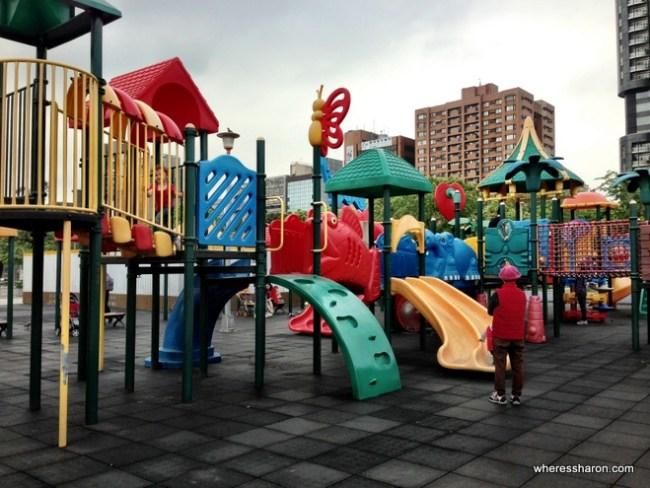 Daan Park Taipei for kids