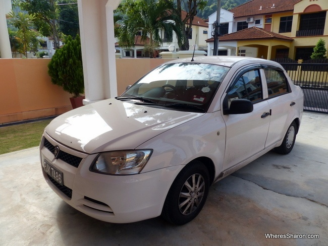 our car in Penang