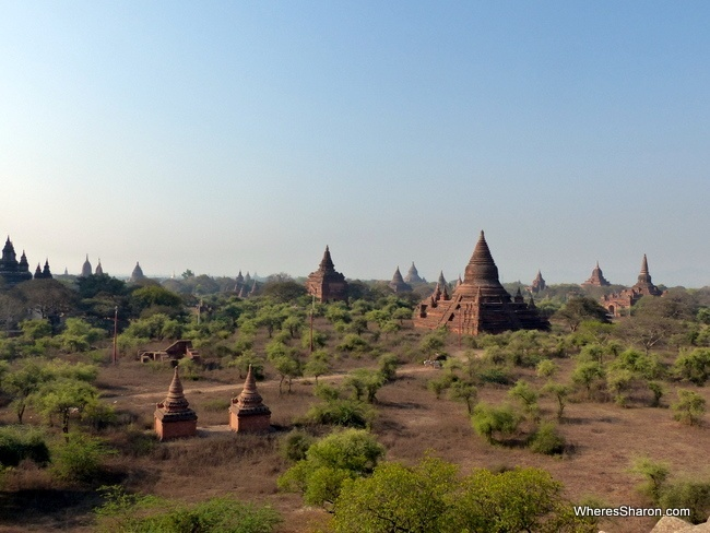 Temples in Bagan things to do