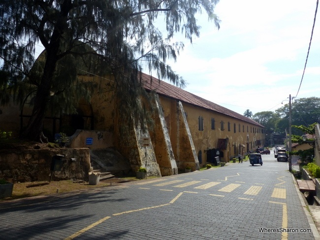 Marine Archeologial Museum and National Maritime Museum Galle Sri Lanka