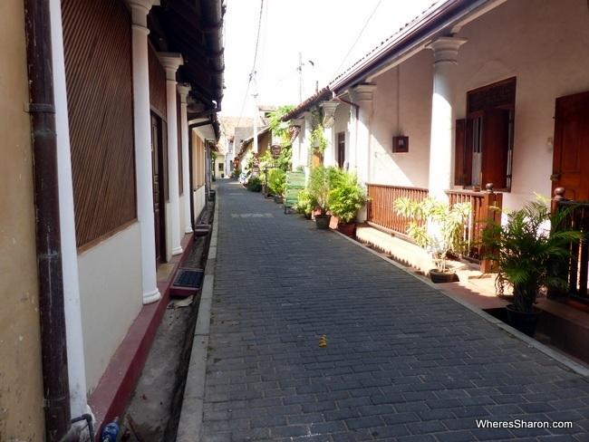 Low key Parawa Street Galle