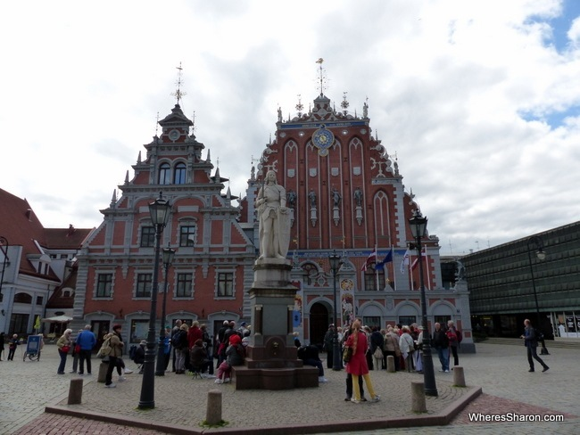 House of Blackheads in Riga Old Town