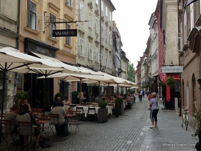 Ljuljana's Old Town