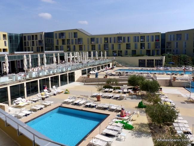 pools at Falkensteiner Family Hotel Diadora